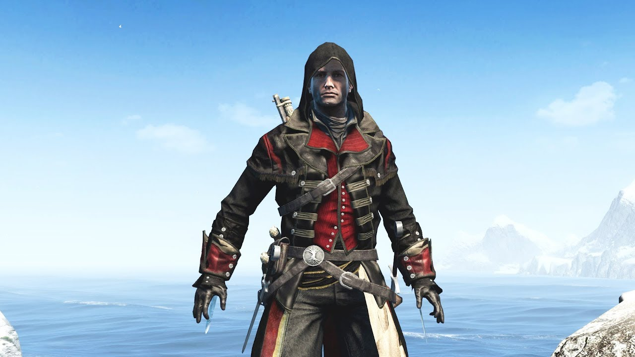 Assassin S Creed Rogue Hooded Templar Outfit Mod From Trailers