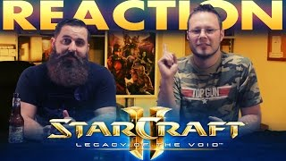 StarCraft II Legacy of the Void Cinematic Trailer REACTION!!
