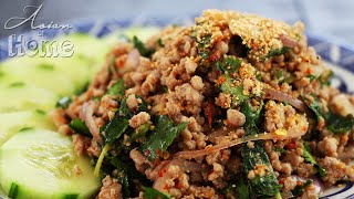 Larb (Laap/Laab) Minced Meat Salad