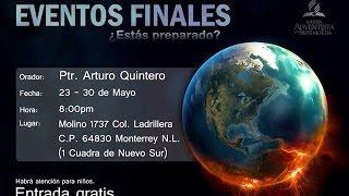 Eventos Finales - Ptr. Arturo Quintero - Día 2