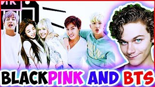 ЧТО ЕСЛИ СОЕДИНИТЬ BTS и BLACKPINK? Реакция на K-POP / BLACKPINK & BTS - DDU-DU DDU-DU X FAKE LOVE