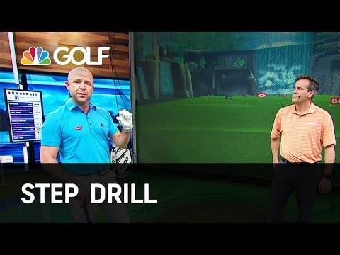 Step Drill - Lesson Tee Live | Golf Channel
