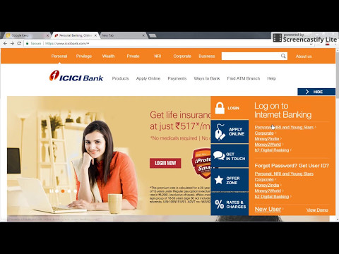 How to Apply IPO - ICICI Bank Account (Hindi)