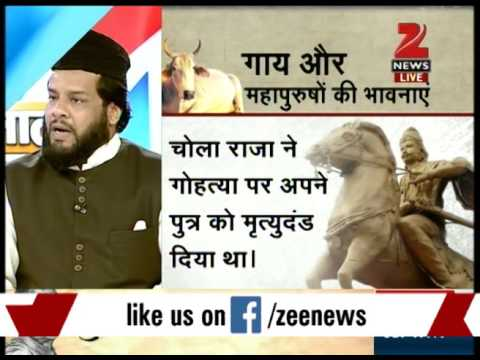 Panel discussion on RJD's Raghuvansh Prasad's beef remark
