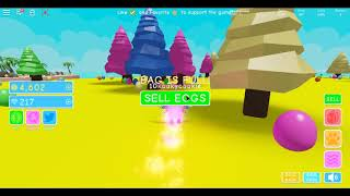 playing roblox Egg Simulator