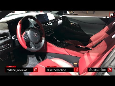 2020 Toyota Supra Interior - Redline: First Look - 2019 NAIAS