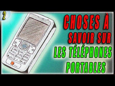 choses savoir sur les t l phones portables youtube. Black Bedroom Furniture Sets. Home Design Ideas