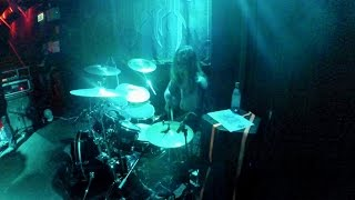 Extreme Black Metal Drumming Live!  (Negator - Gloomy Sunday)