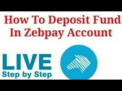 Zebpay fund deposit in rs. account live step by step neft/rtgs/imps