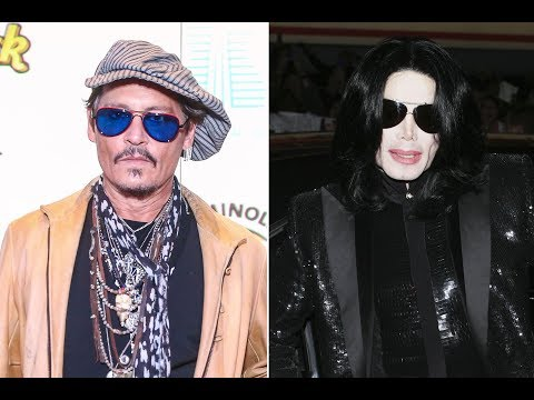 Christie James - Johnny Depp Producing Michael Jackson Musical From The Gloves Perspective
