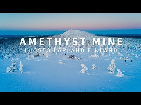 Winter Trip To The Amethyst Mine In Luosto Lapland Finland