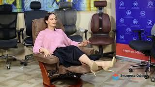 Обзор южнокорейского кресла для отдыха Relax Rio из искусственного нубука высокого качества