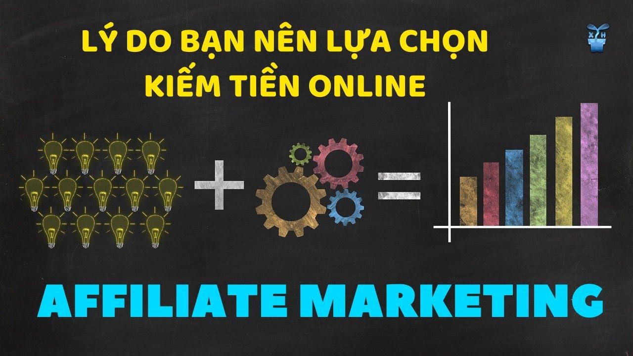 Có nên kiếm tiền Online với Affiliate Marketing?  Affiliate Marketing cho người mới