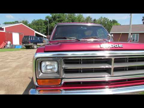 1978 Dodge Ramcharger Commercial Film - Ford Bronco & C ...