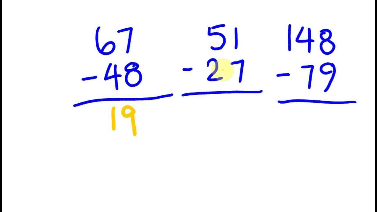 Fast Math Trick To Subtacting Numbers Mentally Two Digit Numbers 20161120  Cool Math Trick: Adding Fractions
