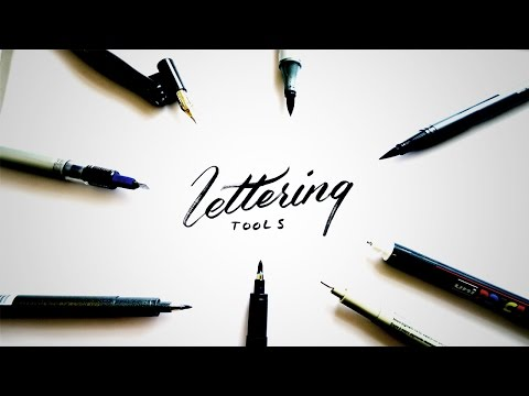 Logo Design And Hand Lettering Equipment 2016