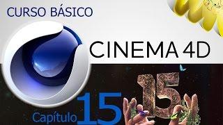Cinema 4D R15, Tutorial propiedades de primitivas, Curso basico en español, cap 15