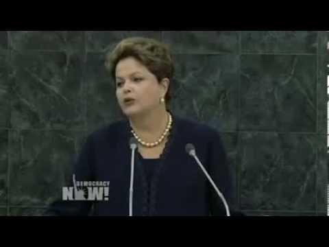 VIDEO: At U.N. General Assembly, Brazilian President Dilma Rousseff Blasts U.S. Spying (Portuguese)