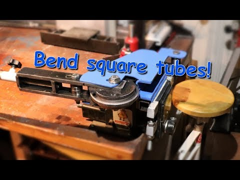 7. Diy Manual square tube bender