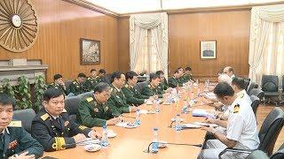 Tin Tức 24h  : Hoạt động của Đoàn cán bộ chính trị cấp cao Quân đội nhân dân Việt Nam tại Ấn Độ