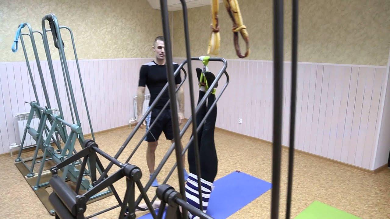 Качели Юлина в Нижнем Новгороде. Перенос упражнений на тренажёр из .