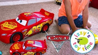 Cars 3 Movie Moves Lightning McQueen and Cruz Toy Cars for Kids from Disney Pixar Video for Children