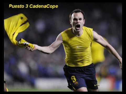 Gol de Iniesta contra el Chelsea narrandolo las mejores radios