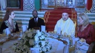 Visite du Président au Maroc: Diner offert au couple Ouattara par le Roi du Maroc/RTI