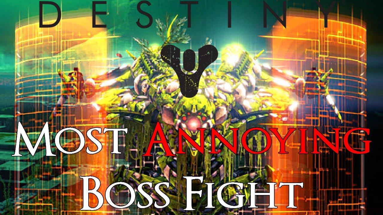 destiny the taken king most annoying boss fight destiny the taken king most annoying boss fight