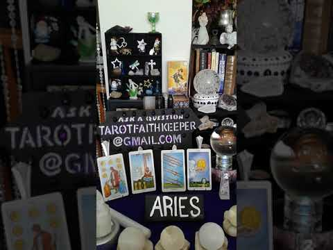 Aries April 2018  New energy in the later of the month, and money