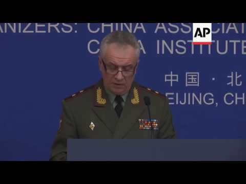 China, Russia to conduct joint missile drill