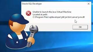 """sql developer : fix """"unab…"""