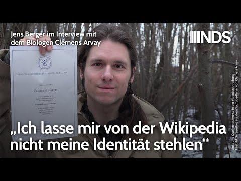 """Clemens Arvay, Biologe: """"Ich lasse mir von der Wikipedia nicht meine Identität stehlen"""""""