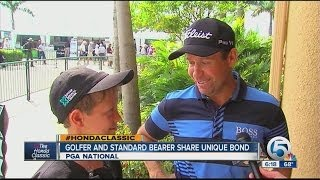 Golfer and Standard Bearer share unique bond at The Honda Classic