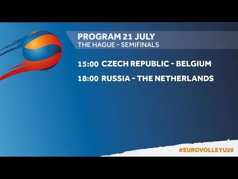 U20 The Hague Sunday : NED - BEL