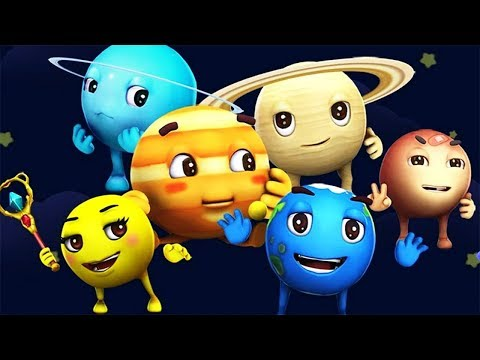 Baby Panda Learn About The Planets In Solar System | Educational Game For Children