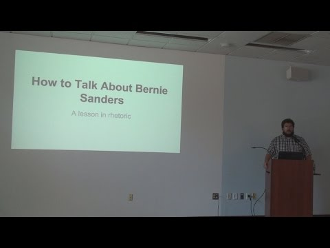 How To Talk About Bernie Sanders