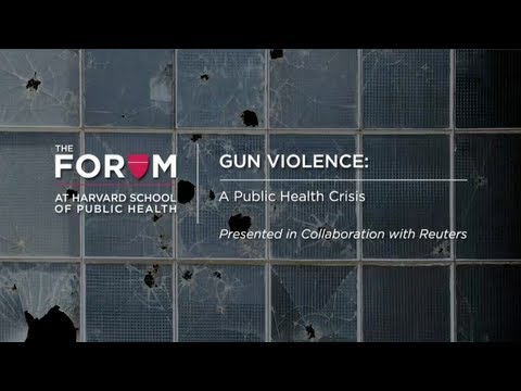 Gun Violence: A Public Health Crisis | The Forum at HSPH