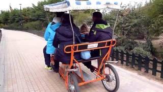 4 Person Quadricycle четырехколесный велосипед(4 Person Quadricycle Этот ролик обработан в Видеоредакторе YouTube (http://www.youtube.com/editor) Спасибо, что смотрите мое видео!..., 2017-02-19T20:44:08.000Z)