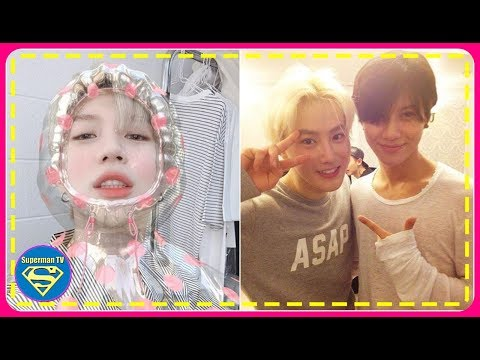 SHINee's Taemin Shared A Series Of Playful Pictures Of Himself And EXO's Suho Left A Corresponding C
