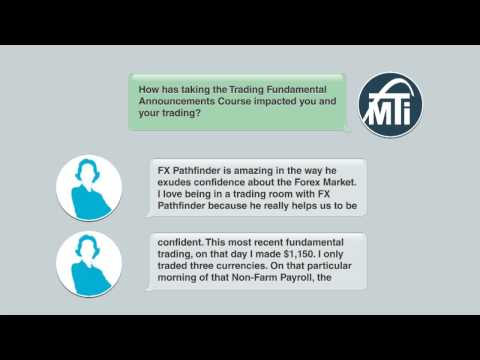 Market Traders Institute Interviews: Sarah D. on the Trading Fundamental Announcements Course