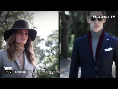 """Italian Gentleman""  - Tombolini - ""2013 Fall Winter"" -  ""Italian Fashion"" & ""Italian Tailoring"""