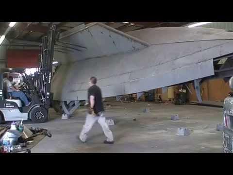 Turning hull over Bruce Roberts 655 Ruby Jeanene