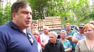 Полиция вместе с титушками стреляла в людей, которые защищали лес от вырубки
