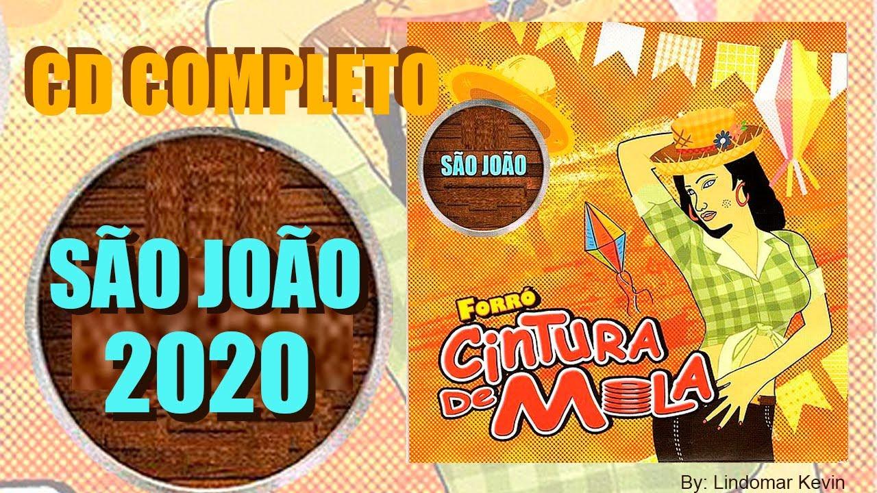 CINTURA DE MOLA NO SÃO JOÃO 2020 - CD COMPLETO