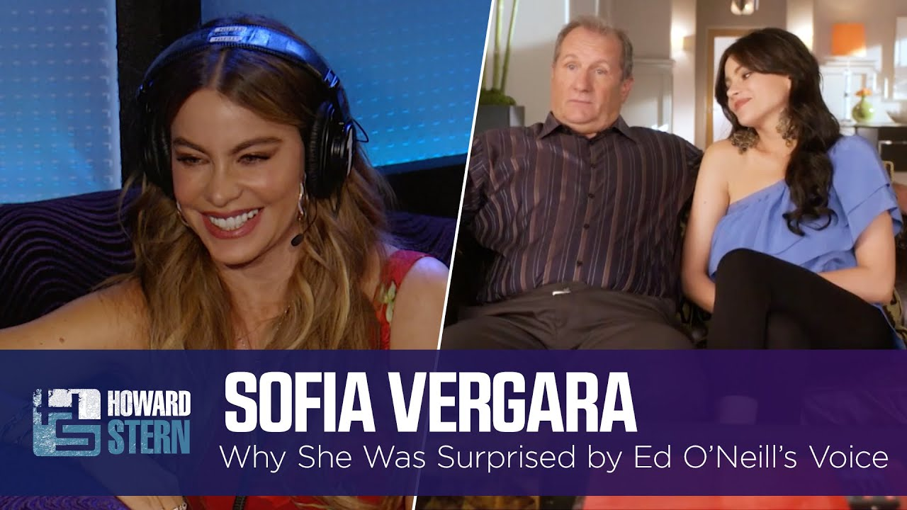 """Sofía Vergara Was Surprised by Ed O'Neill's Real Voice on """"Modern Family"""" (2015)"""