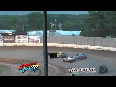 Seymour Speedway - August 3, 2014 - 4 cylinder feature