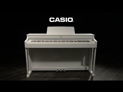 Casio AP 470 Digital Piano, White | Gear4music Demo