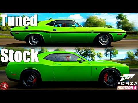 Forza Horizon 4: Stock vs Tuned! Challenger Hellcat vs 1970 Challenger R/T thumbnail