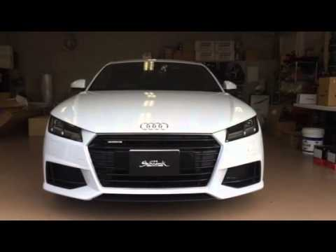 audi tt 8s youtube. Black Bedroom Furniture Sets. Home Design Ideas